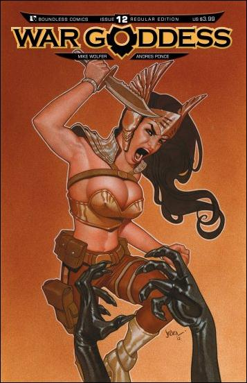 War Goddess 12-A by Boundless Comics