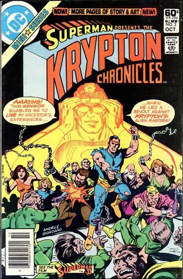 Krypton Chronicles 2-A by DC