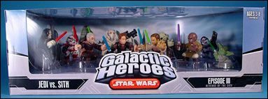 Star Wars: Galactic Heroes Cinema Scenes Jedi vs Sith by Hasbro