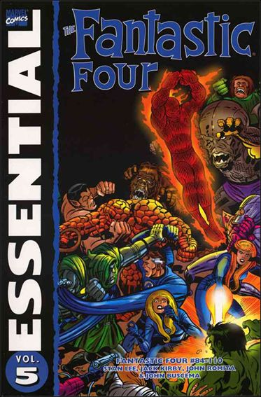 Essential Fantastic Four 5-A by Marvel