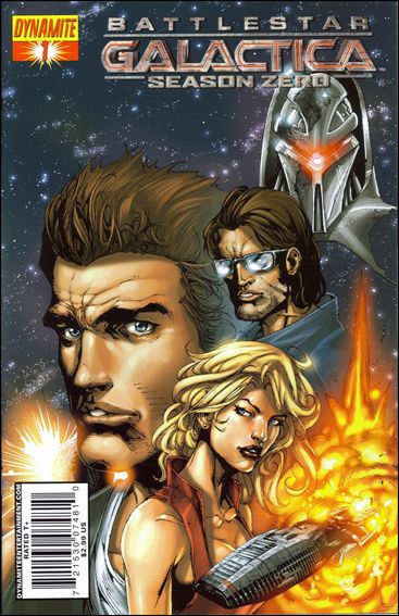 Battlestar Galactica: Season Zero 1-A by Dynamite Entertainment