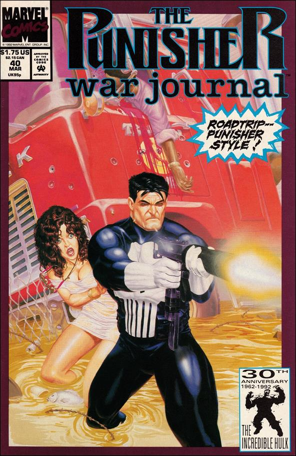 Punisher War Journal (1988) 40-A by Marvel