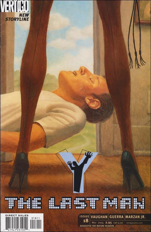 Y: The Last Man 18-A by Vertigo