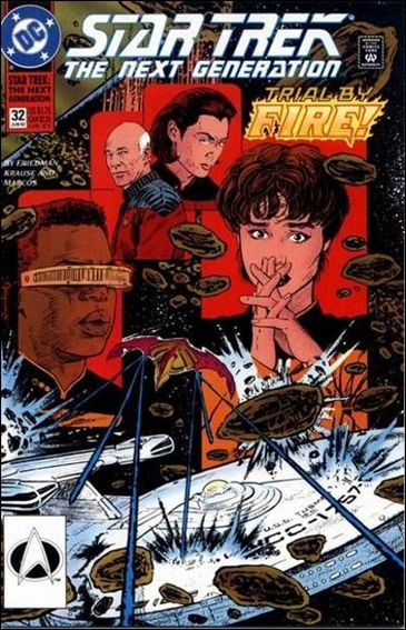 Star Trek: The Next Generation (1989) 32-A by DC