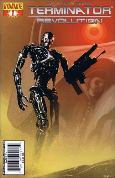 Terminator: Revolution 1-A by Dynamite Entertainment