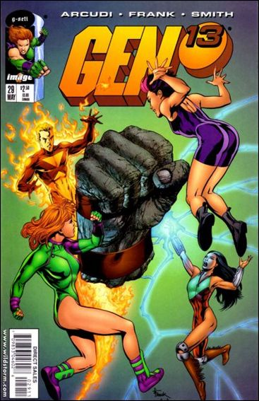 Gen13 (1995) 29-A by WildStorm