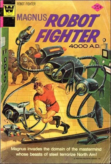 Magnus, Robot Fighter (1963) 37-B by Gold Key