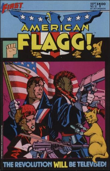 American Flagg! (1983) 12-A by First