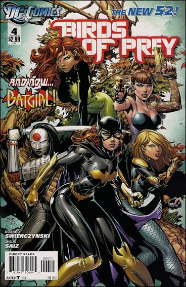 Birds of Prey (2011) 4-A by DC