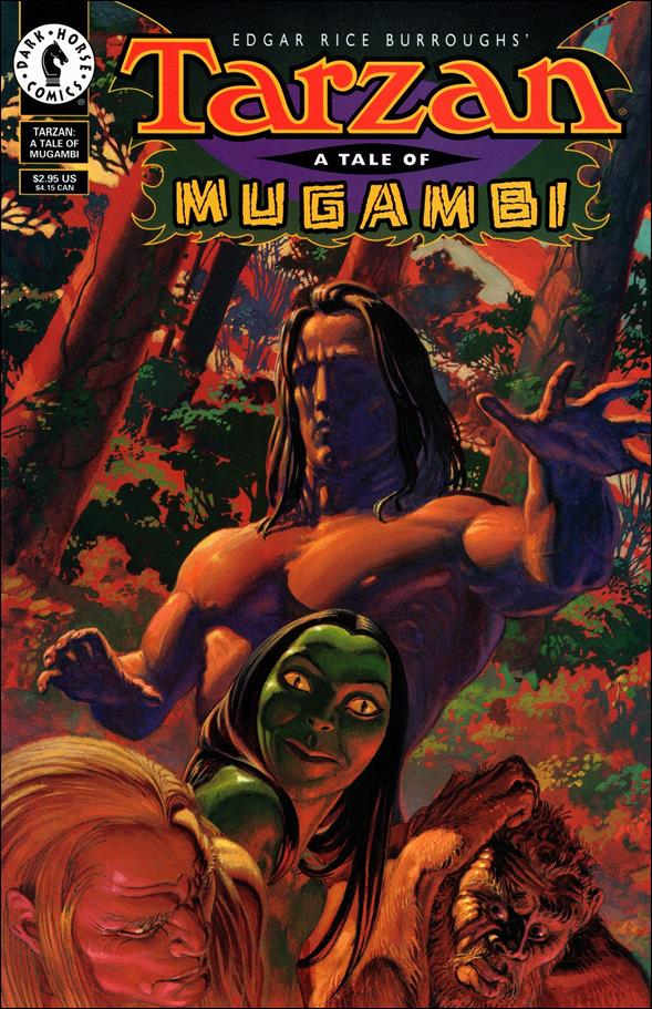 Tarzan: A Tale of Mugambi 1-A by Dark Horse