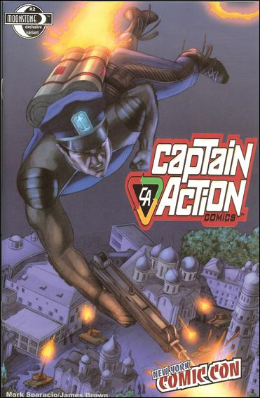Captain Action Comics 2-D by Moonstone
