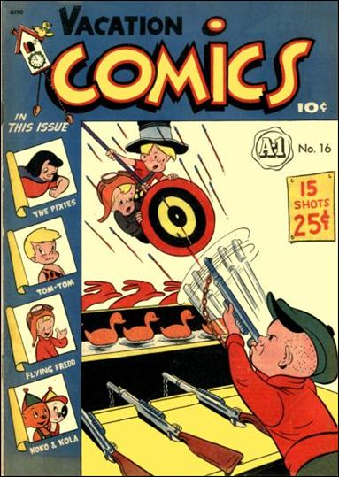 A-1 Comics 16-A by Magazine Enterprises