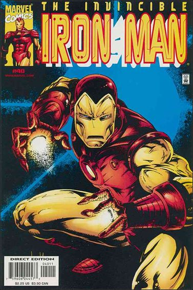 Iron Man (1998) 40-A by Marvel