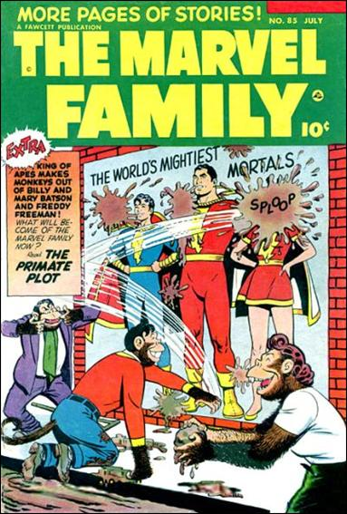 Marvel Family 85-A by Fawcett