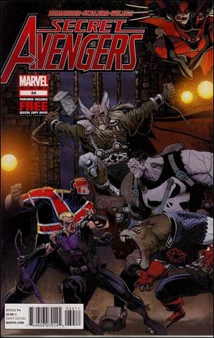 Secret Avengers (2010) 34-A by Marvel