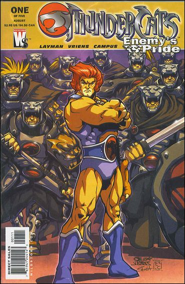 ThunderCats: Enemy's Pride 1-A by WildStorm