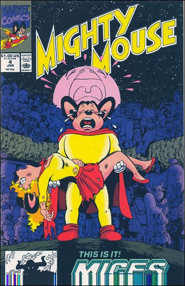 Mighty Mouse (1990) 4-A by Marvel