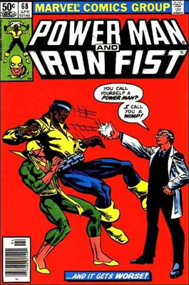 Power Man and Iron Fist (1978) 68-A by Marvel