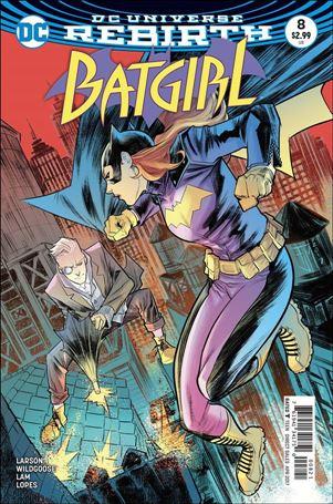 Batgirl (2016) 8-B