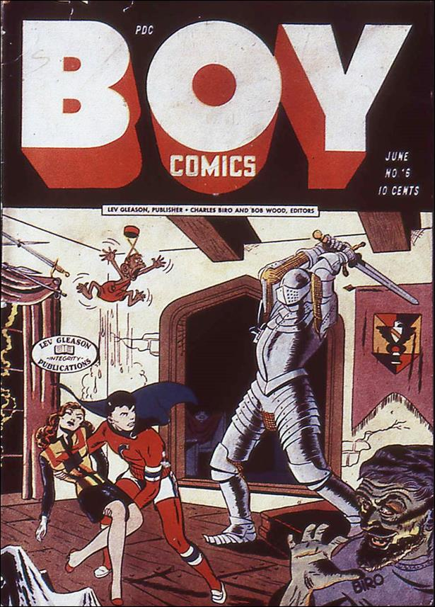 Boy Comics 16-A by Lev Gleason Productions