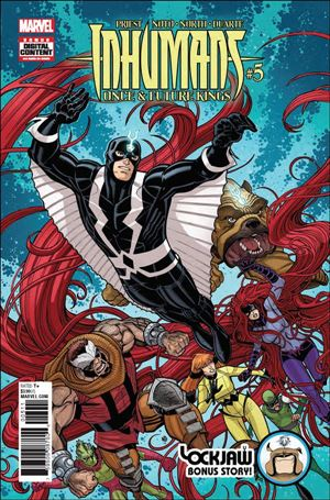 Inhumans: Once and Future Kings 5-A