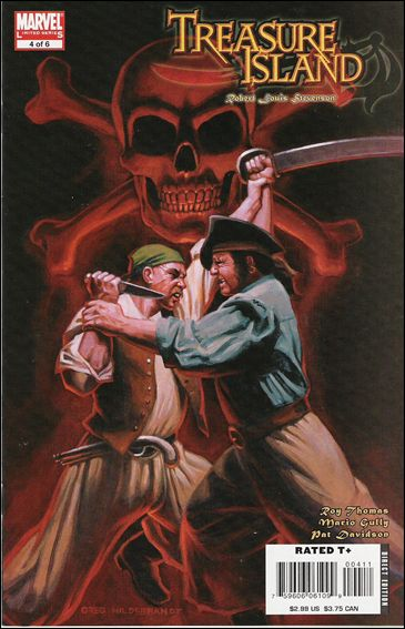 Marvel Illustrated: Treasure Island 4-A by Marvel