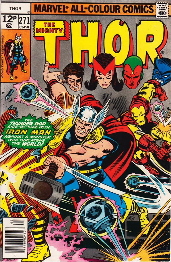 Thor (1966) 271-B by Marvel