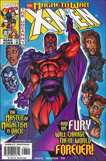 Uncanny X-Men (1981) 366-A by Marvel