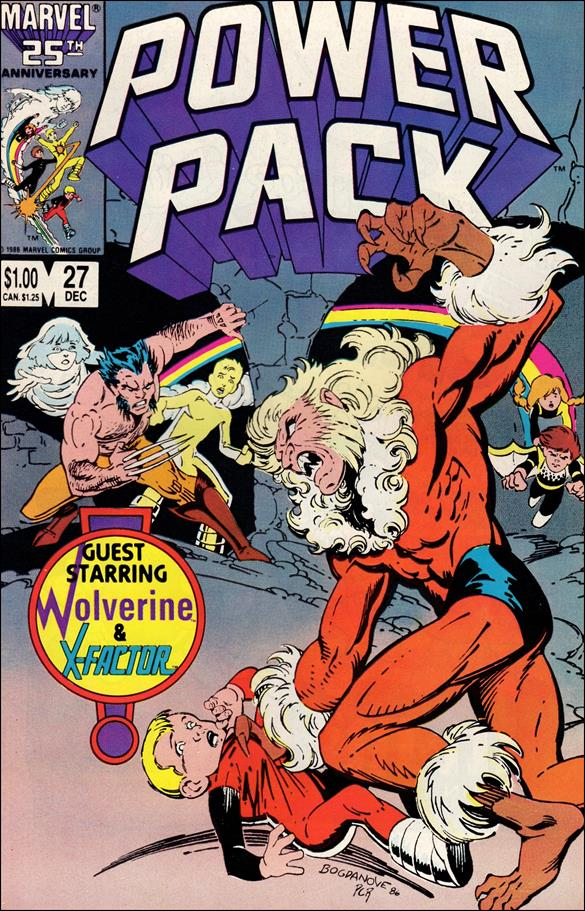 Power Pack (1984) 27-A by Marvel