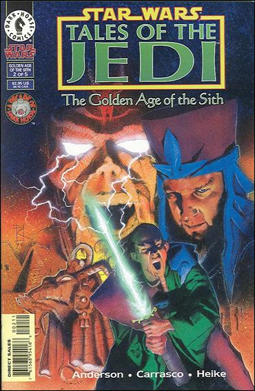 Star Wars: Tales of the Jedi - The Golden Age of the Sith 2-A by Dark Horse