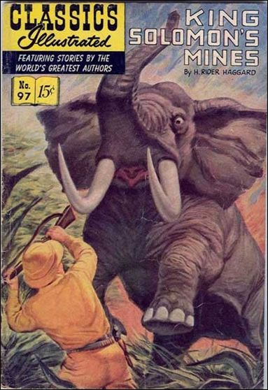 Classic Comics/Classics Illustrated 97-A by Gilberton