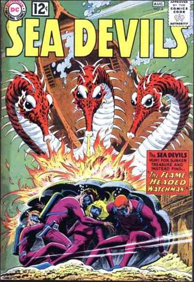Sea Devils 6-A by DC