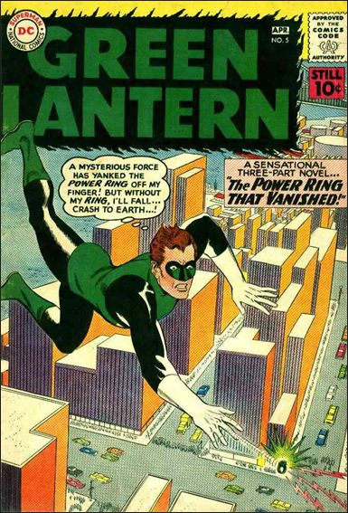 Green Lantern (1960) 5-A by DC