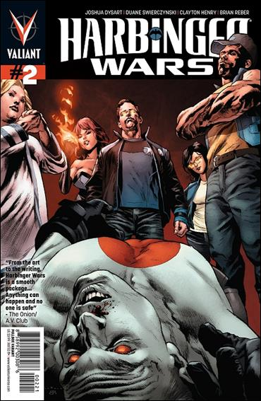 Harbinger Wars 2-B by Valiant Entertainment
