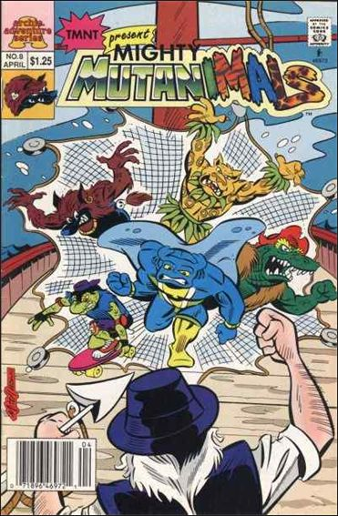 Mighty Mutanimals (1992) 8-A by Archie