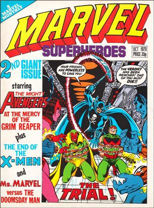 Marvel Superheroes (UK) 354-A