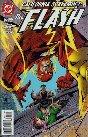 Flash (1987) 125-A by DC