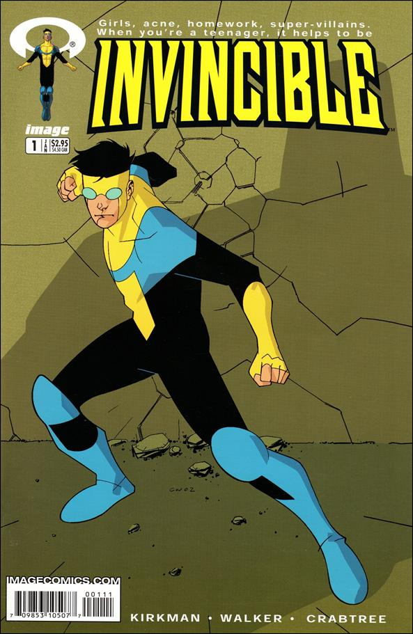 Invincible 1-A by Image