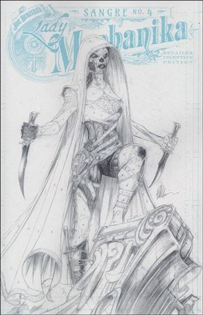 Lady Mechanika: Sangre 4-C