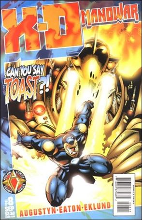 X-O Manowar (1997) 8-A