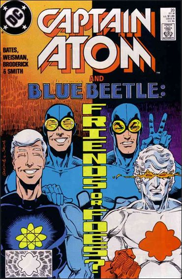 Captain Atom (1987) 20-A by DC