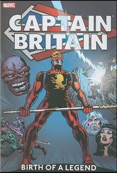 Captain Britain 1-A by Marvel