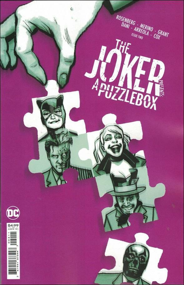 Joker Presents: A Puzzlebox 2-A by DC