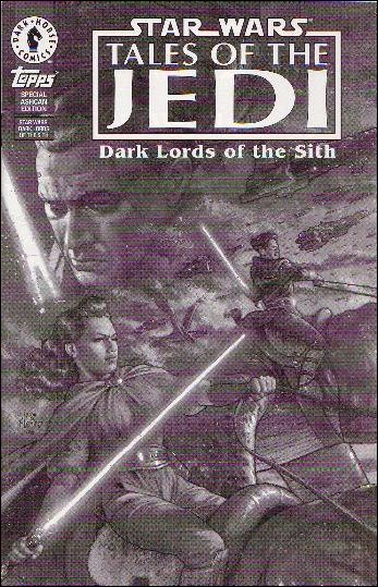 Star Wars: Tales of the Jedi - Dark Lords of the Sith, Book One Ashcan-A by Dark Horse