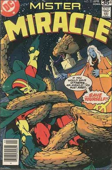 Mister Miracle (1971) 23-A by DC