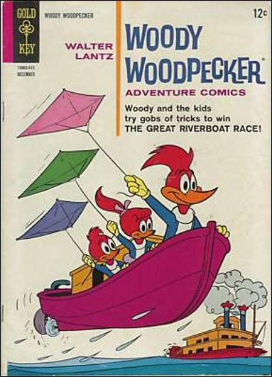Walter Lantz Woody Woodpecker  82-A by Dell