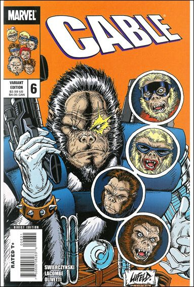 Cable (2008) 6-B by Marvel
