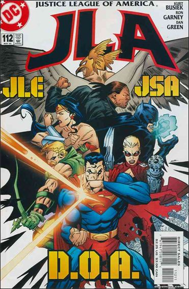 JLA 112-A by DC