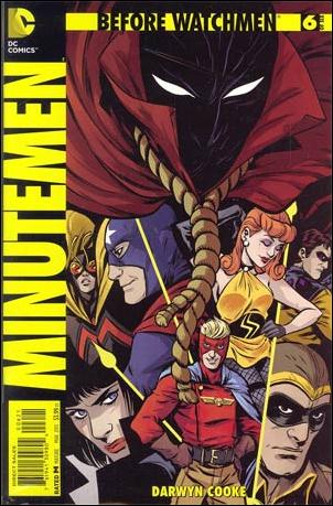 Before Watchmen: Minutemen 6-D by DC
