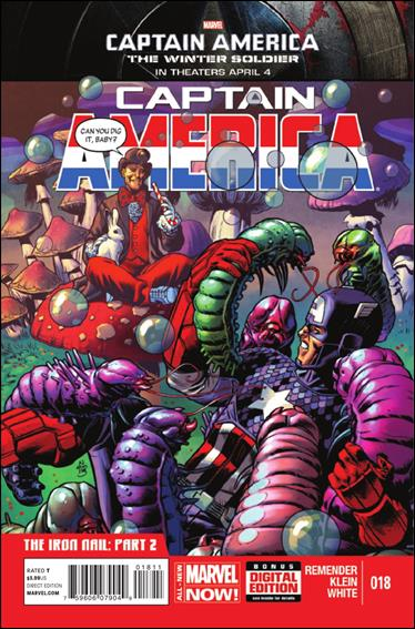 Captain America (2013) 18-A by Marvel